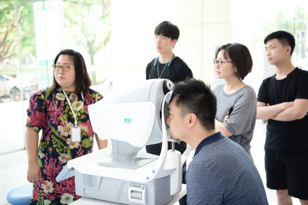 Eye Care Day in Shanghai, China