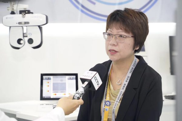 Louise CHEN, Chief Commercial Officer Lens China interviewed by CCTV (China Central Television)