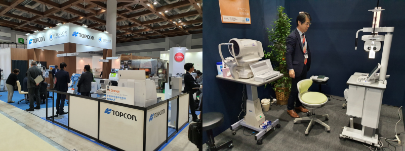 Introduction of Vision-R800 and AVA at IOFT 2019