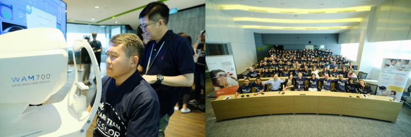 Celebrating World Sight Day in Essilor Singapore